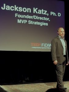 Still from resource video, TEDx Talk: Violence and silence by Jackson Katz