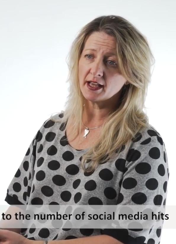 Screenshot from video of Dr Ann O'Neill, victim survivor and Our Watch Ambassador.