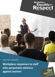 Cover of resource showing woman speaking to group at workshop. She's in front of a whiteboard.